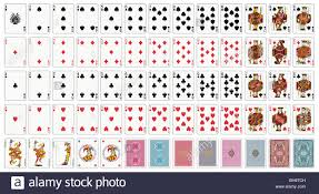 cards deck standard size various kinds of