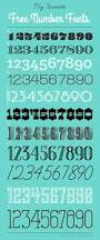 number free fonts fonts free and numbers