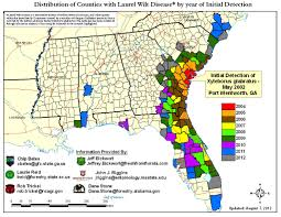 Pythons In Florida Map by Laurel Wilt An Exceptionally Damaging Exotic Disease That