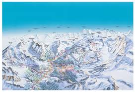 Piste Maps For Italian Ski by Saas Fee Piste Maps And Ski Resort Map Powderbeds