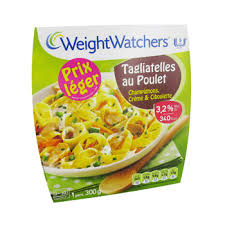 plat cuisiné weight watcher weight watchers tagliatelle poulet chignon 300g tous les