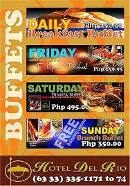 Rio Buffet Local Discount by Flavours Of Iloilo April 2010