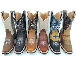 s boots s rodeo cowboy boots genuine leather square toe botas