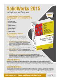 solidworks 2015 for engineers and designers technical drawing
