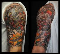 depiction gallery tattoos part arm japanese half