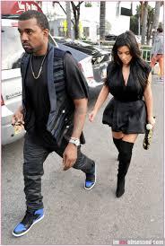 kim kardashian & kanye west do