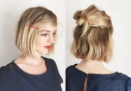 Hochsteckfrisurenen Zum Selber Machen Schulterlange Haare by Hochsteckfrisurenen F Kurze Haare 100 Images