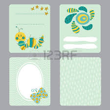 baby shower notes set of printable templates for greeting cards design baby