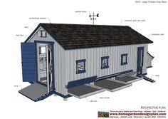 home garden plans l310 large chicken coop plans chicken coop