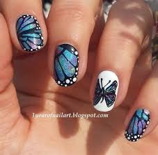 butterflies nail web gallery with butterfly nail designs