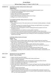 support operations resume samples velvet jobs