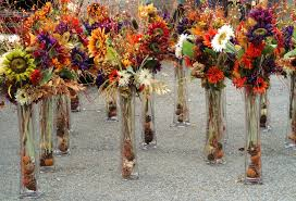 Flower Arrangements For Tall Vases 20 Unique Wedding Center Pieces Flower Arrangements Fall Colors