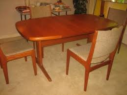 danish modern dining room furniture furniture dining sets post 1950 antiques browser