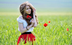 girls with flowers wallpapers hd pictures u2013 one hd wallpaper