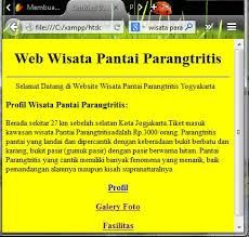 tutorial membuat web html sederhana membuat web statis dengan html seputar teknologi informasi