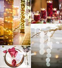 Christmas Wedding Decor - merry christmas inspired red and green wedding ideas and wedding