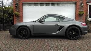 porsche cayenne matte grey cayman painting the wheels black