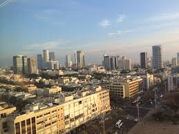 tel aviv skyline jayhawks in israel
