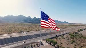 El Paso Texas Flag American Flag Drone Tribute Youtube