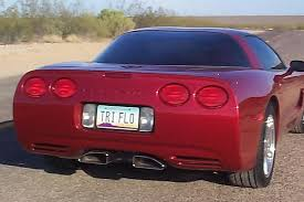 billy boat exhaust c6 corvette chevy c5 corvette prt axle back exhaust system with speedway tips