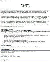 Sample Of Banking Resume by Banking Assistant Cv Example Icover Org Uk