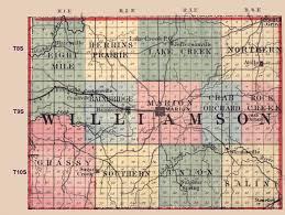 Illinois County Map Williams Jpg