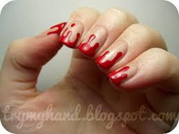 blood nail art image collections nail art designs