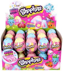 easter egg surprises set of 3 shopkins season 4 easter egg blue yellow pink 2
