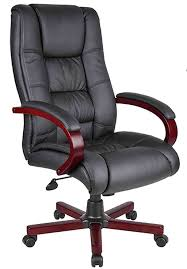 Desk Chair Leather Design Ideas High Back Black Leather Executive Office Chair Leather Office