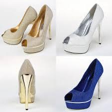 cheap silver wedding shoes 2015 cheap gold royal blue white silver wedding bridal shoes for