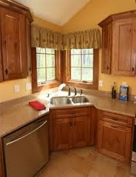 Corner Kitchen Sink Design Ideas Corner Sink Kitchen Corner - Corner sink kitchen cabinets