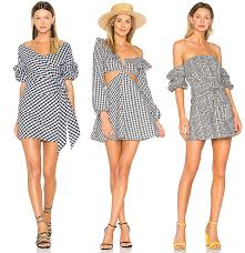 revolve dresses flirty black and white gingham looks from revolve decadent