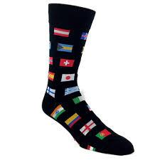 Flag Of The World Of The World Socks