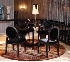 round glass dining room tables dreamfurniture com 8929 armani xavira round glass dining table