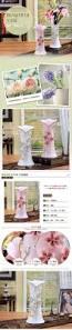 vase home decor ceramic white pink flowers vase home decor large floor vases for