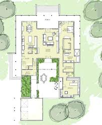 courtyard house plan courtyard house plans mid century modern house plan luxurious layout