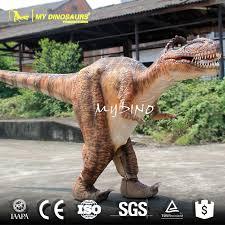 velociraptor costume realistic dinosaur costumes for sale animatronic walking dinosaur
