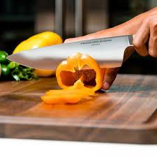 amazon com 8 inch chef knife handmade in usa grade 4116