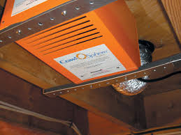 crawl space exhaust fan crawl space fan system to ventilate a crawl space in fort worth