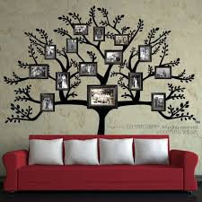 fashionable ideas family tree wall picture frame decor frames