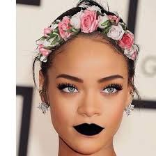 hippie flower headbands hair accessory rihanna flower crown earrings rihanna style
