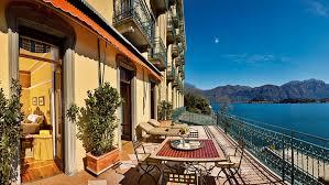 terrace of suite greta grand hotel tremezzo lake como travel