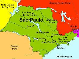 city map of brazil sao paulo map and sao paulo satellite image
