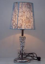 Tiffany Table Lamp Shades Vonhaus Lamp Base Battery Operated Country Polyester Fabric