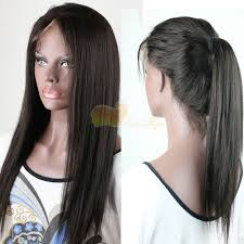 invisible hair remy human hair lace front glueless with back