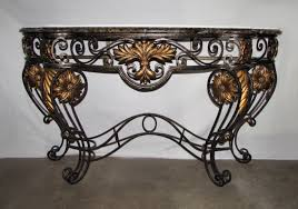 Marble Top Sofa Table by Encore Furniture Gallery Maitland Smith Marble Top Iron And Brass