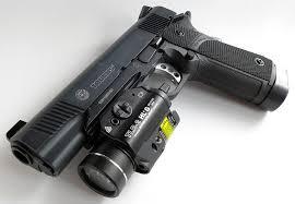 Streamlight Pistol Light Review Streamlight Tlr 2 Hl G Gun Light With Laser Sight 2x Cr123