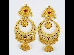 antique gold jhumka earrings antique gold jhumkas designs gold jhumka earrings models