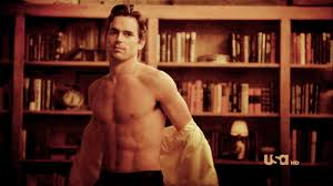 matt bomer man crush all that time he took his shirt off 39 times neal caffrey was the
