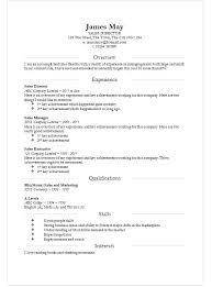 A Resume Template On Word Microsoft Template Resume Sle Resumes Template Resume